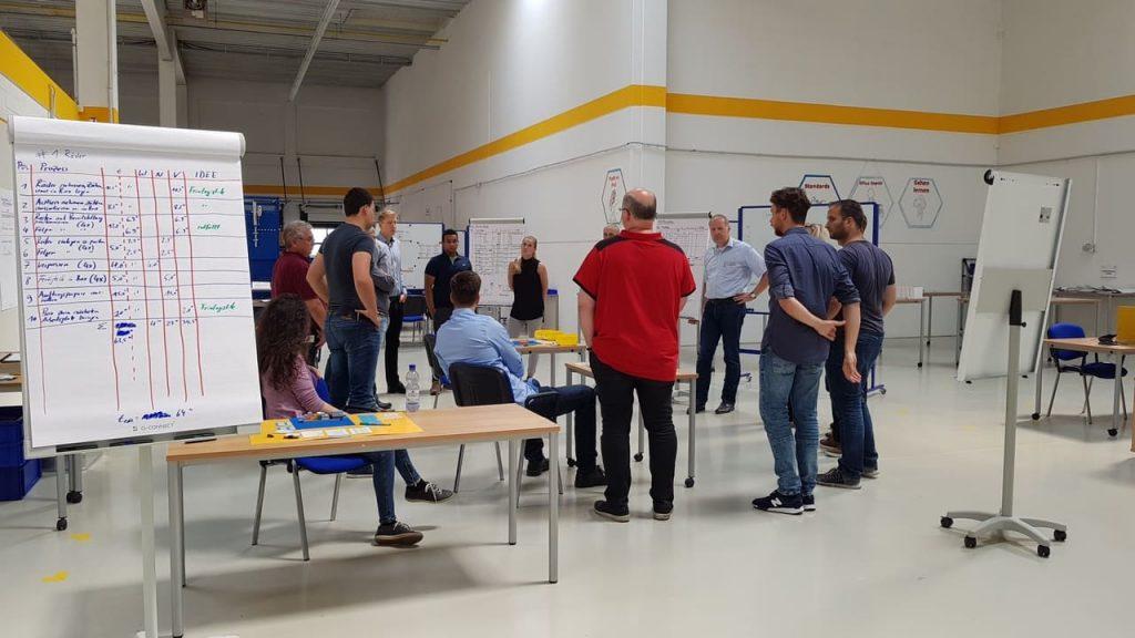 Lean Logistik Lean Management Training im IMPULS Trainingscenter
