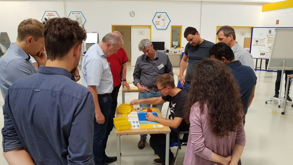 Lean Maintenance Instandhaltung Training im IMPULS Trainingscenter