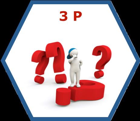 3P Lean Management Seminar/Training/Workshop Icon