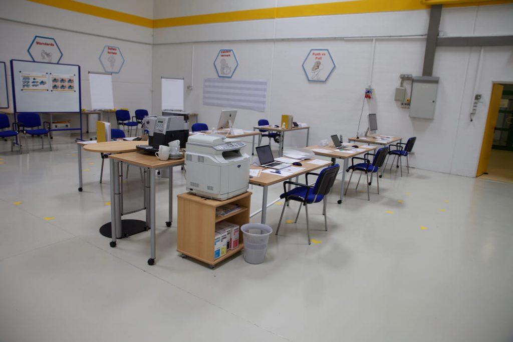 Trainingsansatz IMPULS Trainingscenter Lean Management