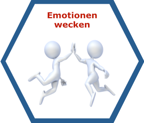 Lean Management Emotionen wecken Icon