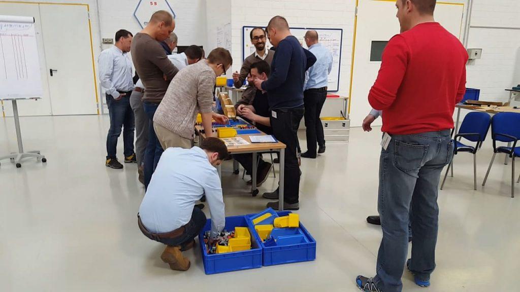 Lean Management für Betriebsräte Training im IMPULS Trainingscenter
