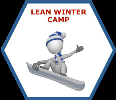 Lean Winter Camp Lean Management Seminar/Training/Workshop Icon