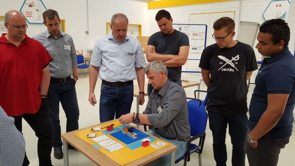 Über IMPULS Trainingsansatz Lean Management IMPULS Trainingscenter