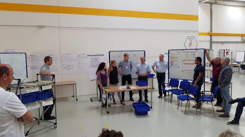 Schlanke Auftragssteuerung Lean Management Training im IMPULS Trainingscenter