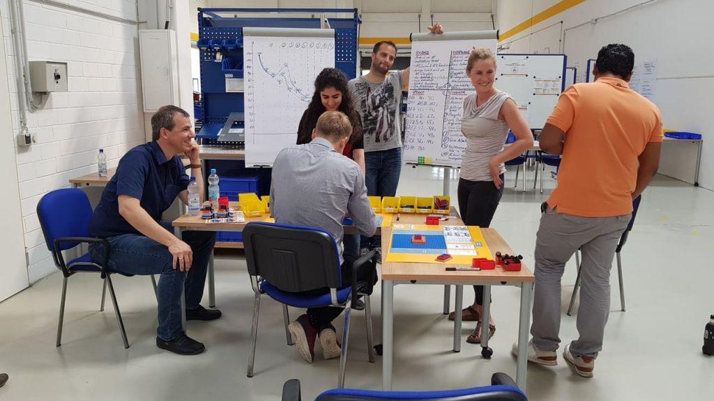 Wertstromdesign für Geschäftsprozesse Lean Management Training im IMPULS Trainingscenter